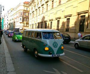 A Volkswagen Parade